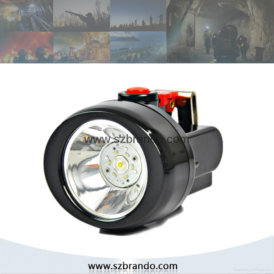 KL2.5LM A Cordless Safety Caplamp with 2.5Ah Li-ion battery 1
