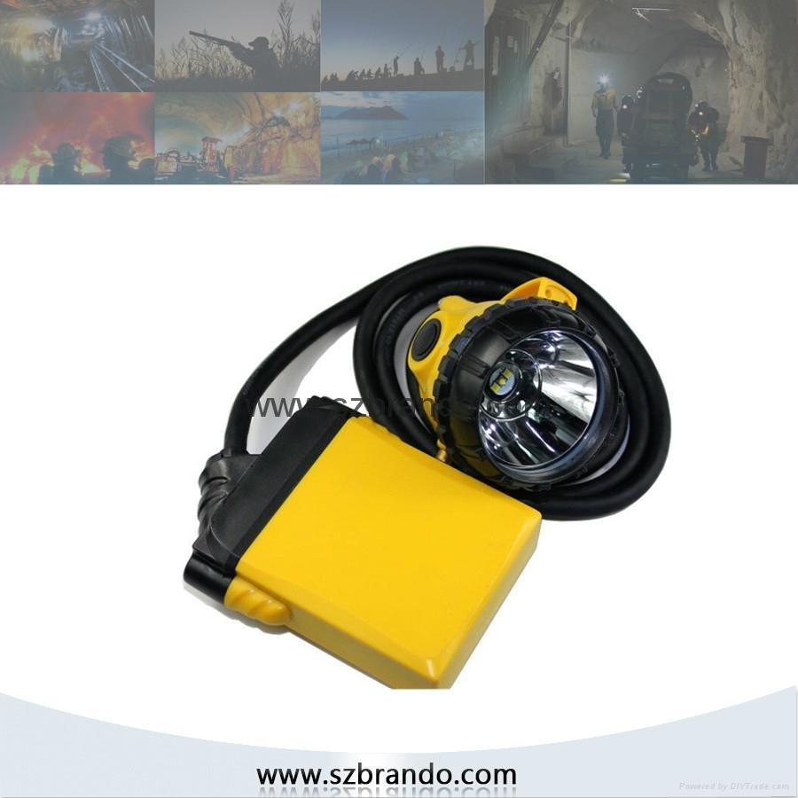 KL12LM  25000lux Mining Caplamp, 4 levels lighting  2