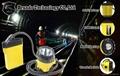 KL12LM  25000lux Mining Caplamp, 4 levels lighting  7