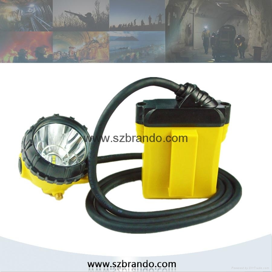 KL12LM  25000lux Mining Caplamp, 4 levels lighting  4