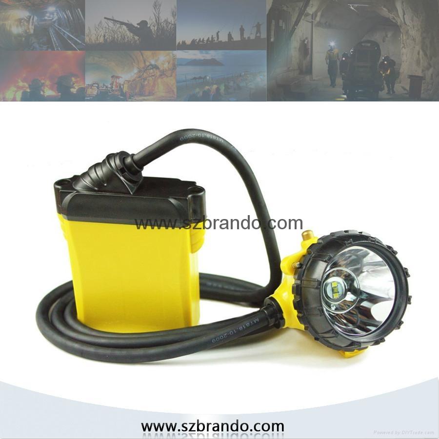 KL12LM  25000lux Mining Caplamp, 4 levels lighting  1