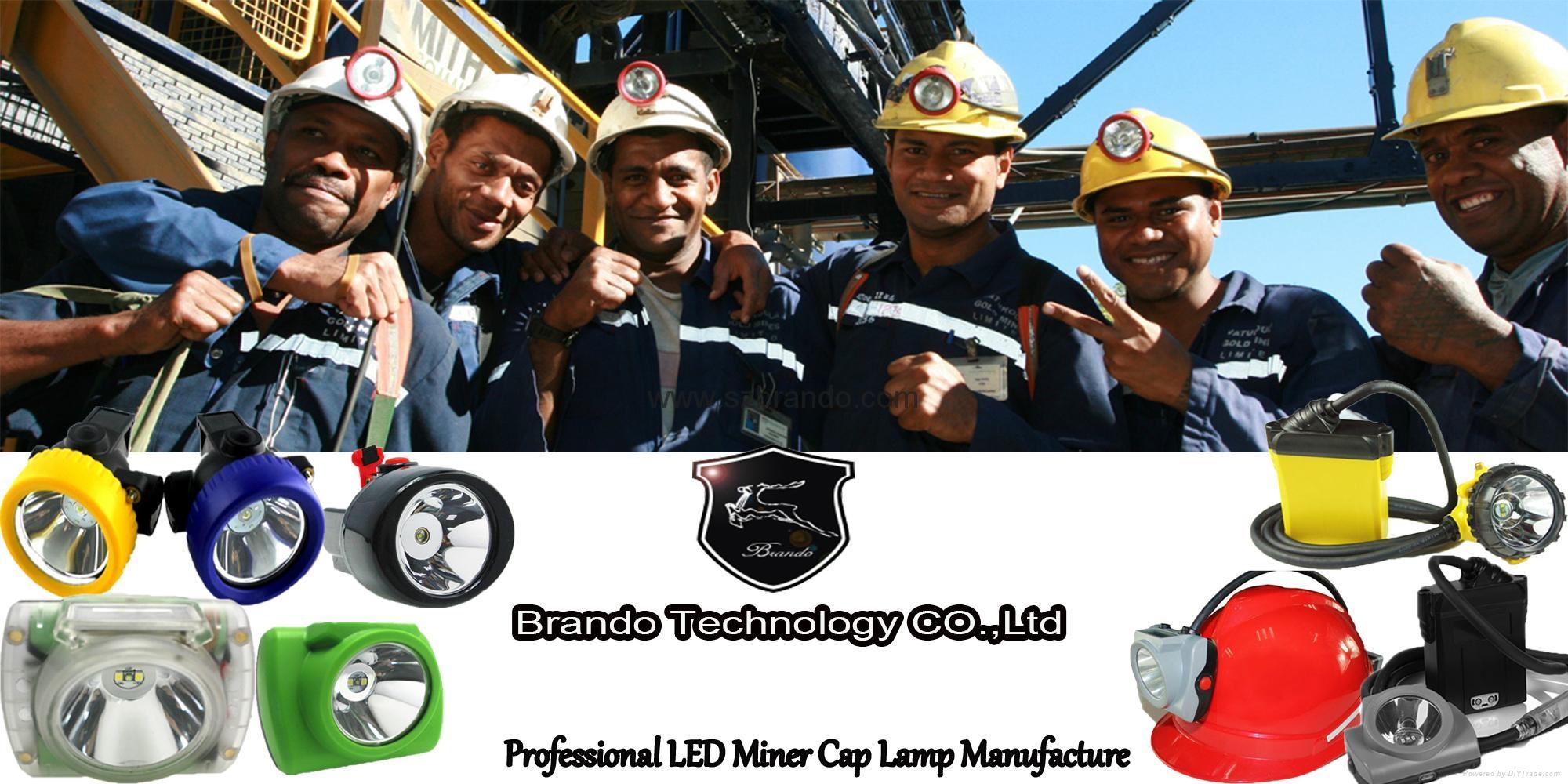 KL5LM-C 11000lux Mining Caplamp, Miner's Cap lamp 5