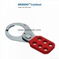 BO-K01/K02  1'' & 1.5''  Vinyl Coated HASP, Safety HASP lockout