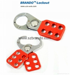 BO-K01/K02  1'' & 1.5''  Vinyl Coated HASP, Safety HASP lockout