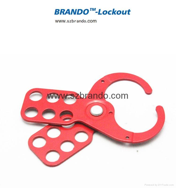 BO-K03/K04 1'' & 1 5'' Economic steel HASP, Safety HASP