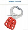 BO-K21/K22 Vinyl Coated Aluminum HASP, Safety HASP lockout