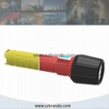 BRANDO Explosion-proof LED Torch with OLED Display