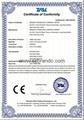 CE Certificates of BRANDO KL6-C Cordless Cap Lamp