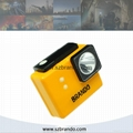 KL2-C Lightweight LED Cordless Miner Cap Lamp for Underground and Outdoor