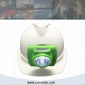 KL6-C 13000Lux  Cordless miners cap lamp with OLED screen and 6.2ah battery  1