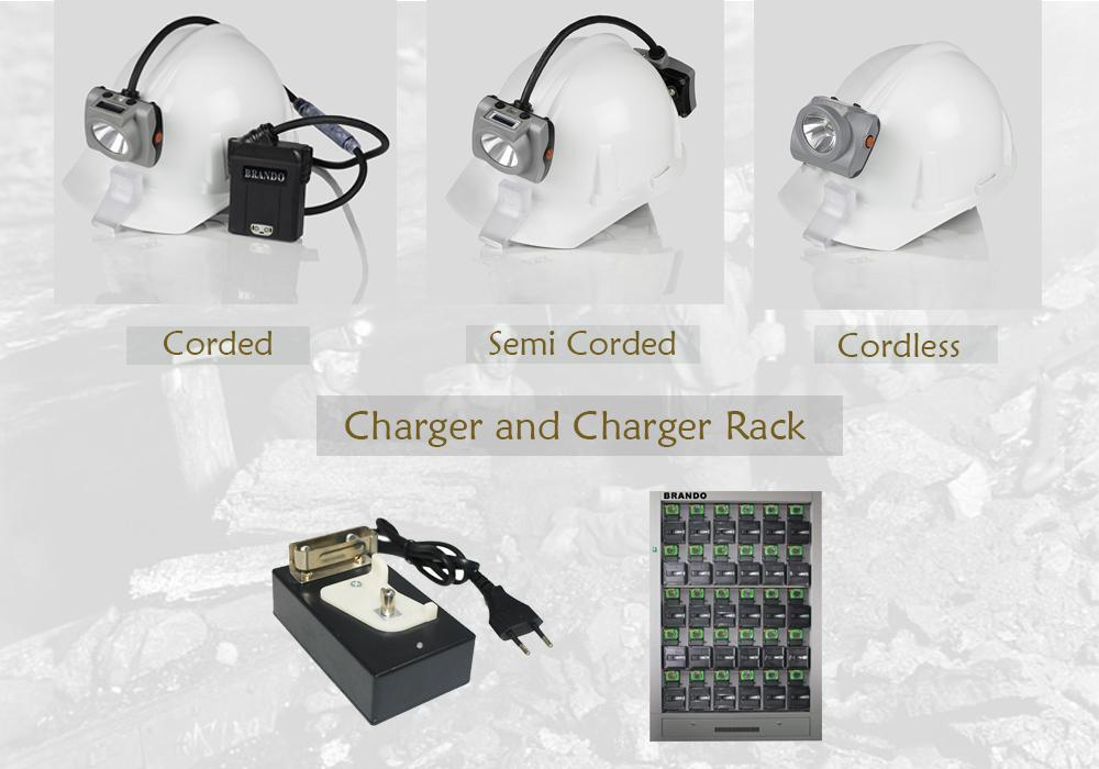 Customized KL6LM-C led cordless mining lamp 2