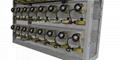 BRANDO New Design 96units LED Cap Lamp Charger Racks with detachable modular