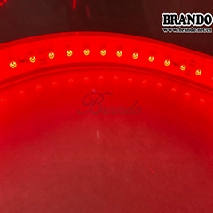 BRANDO flexible circuit board LED Red Tape LIght in Tunnel