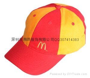 深圳太阳帽订做广告帽定做 3