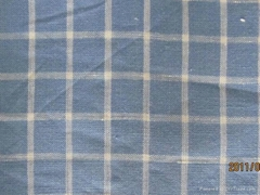 100%Linen Yarn Dyed Fabric