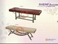 专业供应美容床(实木、不锈钢架