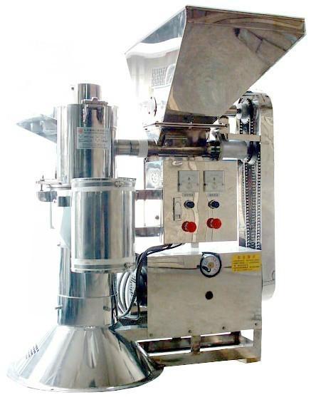 安全节能高效率自动进料高速磨粉机 1