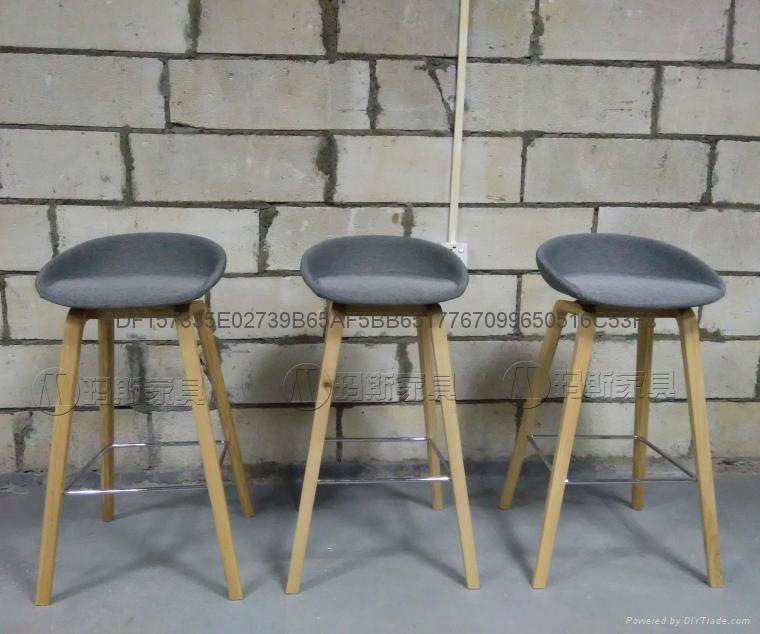 北歐吧台椅酒吧椅HAY about a stool barstool簡約高腳吧凳 5