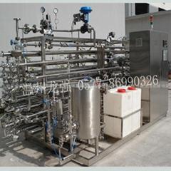 果汁/茶飲料管式殺菌機UHT滅菌機