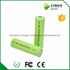 nimh rechargeable battery AA 2300mAh 1.2V Cylindrical battery