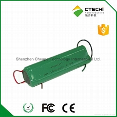 NIMH AA1500mAh 7.2V battery for security system bell