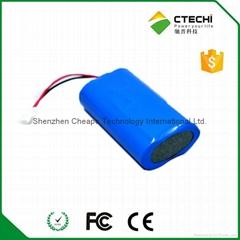 2016 hot selling 3.7v 4400mah ICR18650 li-ion battery pack
