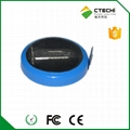 CR2032 3V SOLDER TAB Pin battery with