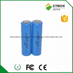 AA ICR14500锂离子电池