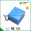 LiFePO4 IFR26650 Battery pack 9.6V