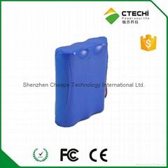 3.7v 6600mah 18650 lithium battery pack