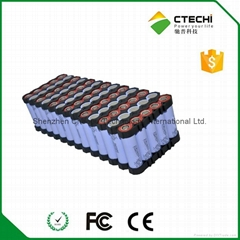 11Ah 48V high capacity lithium E-bike battery pack 18650