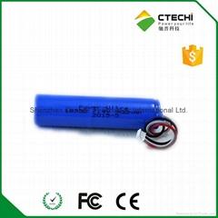 18350 7.4V 900mah battery pack E cigaratte battery