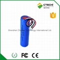 E cigaratte battery 18350 7.4V 900mah battery pack