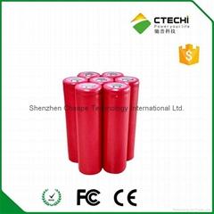 Sanyo UR18650AA 3.6V 2200mah li ion rechargeable battery