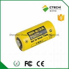 Panasonic PLC battery BR2/3A 3V 1200mah lithium battery