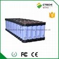 5P13S18650 48V 11000mAh battery pack for