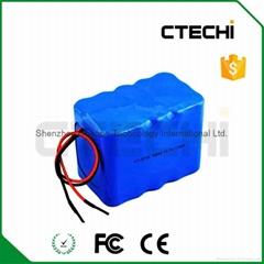 Electric bike battery pack 11.1V 11Ah 18650 battery pack