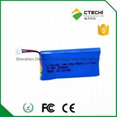 CS50 headset replacement battery 3.75V 240mAh