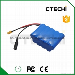 3P3S 18650 battery pack
