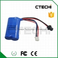 7.4V 1000mAh rechargeable battery pack