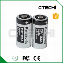 panasonic CR123A 3V camera battery
