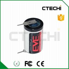 EVE ER14250 3.6V lithium battery with