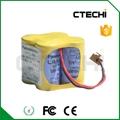 BR-2/3AGCT4A 6V PLC battery lithium battery panasonic brand