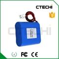18650 3.7v 6600mah lithium battery pack
