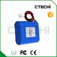 定制18650 电池组3.7v 6600mah