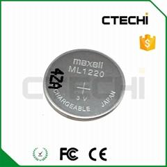 原裝進口萬勝ML2032 3V可充紐扣電池