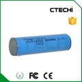 ICR14500 3.7V 750mAh Li-ion rechargeable battery
