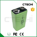 Sealed Ni-MH Prismatic Battery pack 9V300