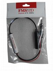 12MHz Car Cassette Player Radio FM Converter FM Band EXpander Frequency Converte
