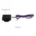 2 way car alarm system auto start vibration alarm microwave/shock warn